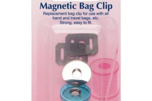 Hemline Magnetic Bag Clip 19mm