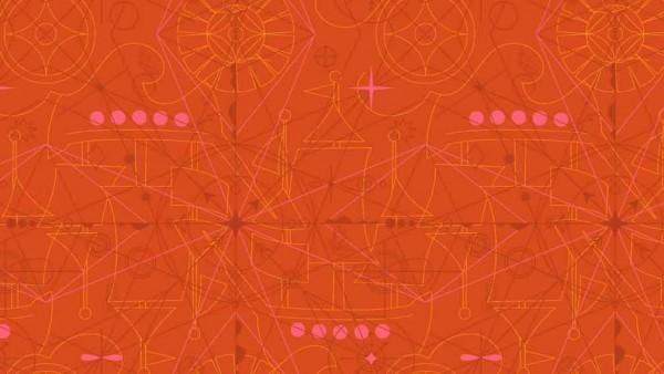 Sunprint 2018 3O Compass Marmalade