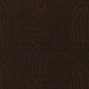 Flat Fold Moire Brown 4m piece