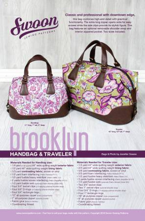 SWOON Brooklyn Handbag & Traveler SWN018