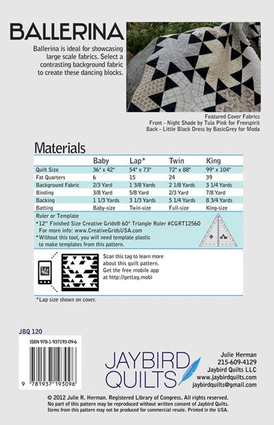 Ballerina Pattern JBQ 120