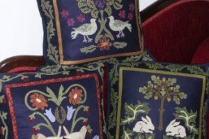 Pattern William Morris Trio of Cushions