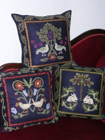 Pattern William Morris Trio of Cushions