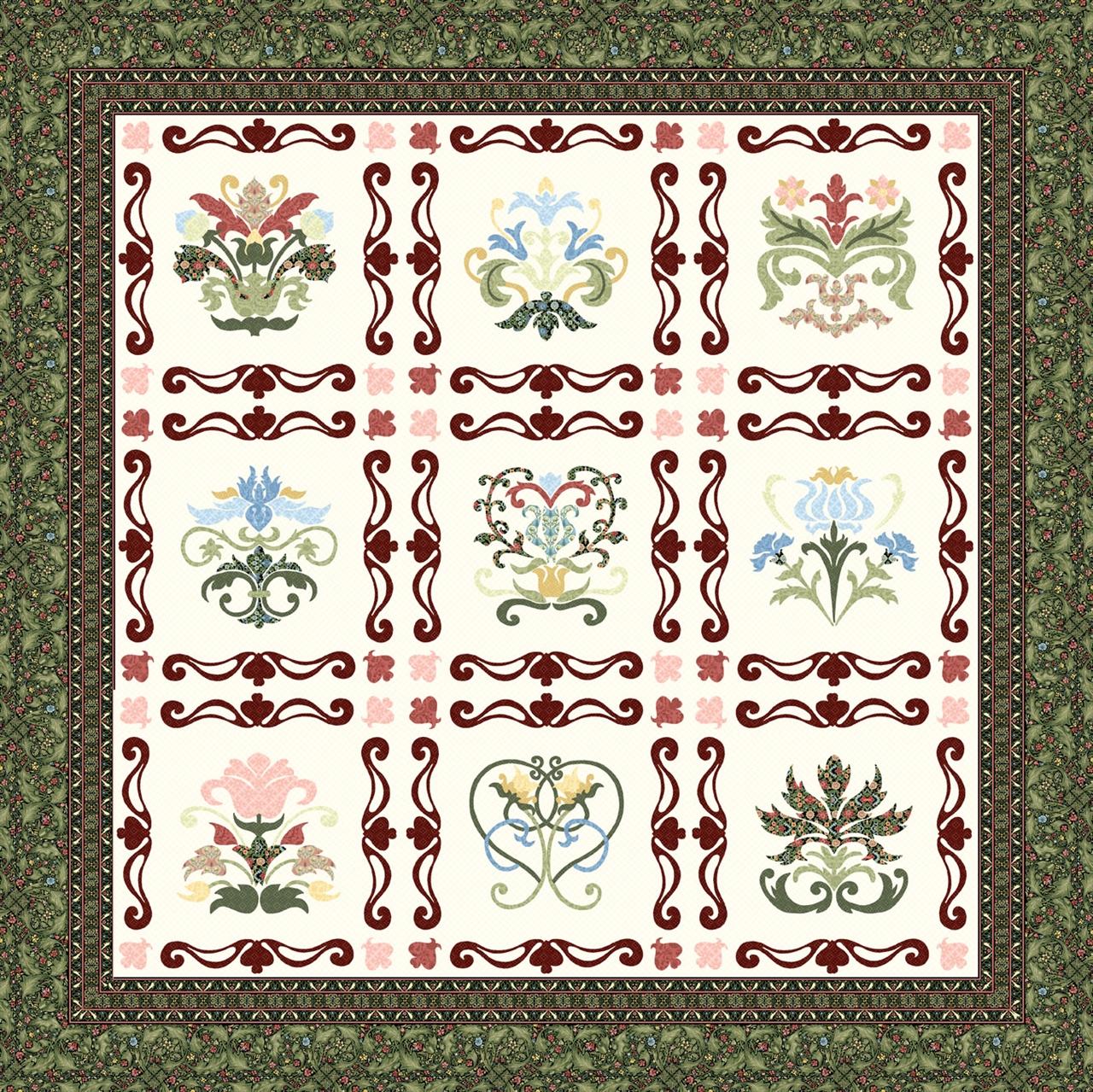 Pattern Adelaide Floral Sampler