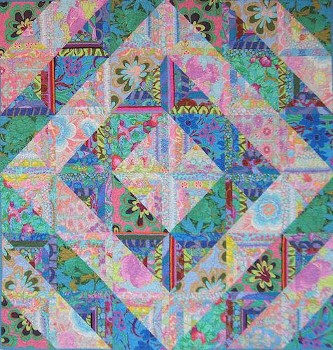Pattern Fractured Diamonds