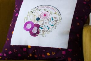 Flower No 1 Embroidery project