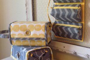 Pattern Rollie Pollie Bag