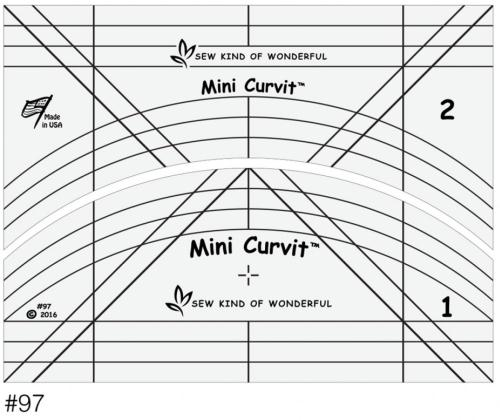 Mini Curvit Ruler Set (for Longarm)