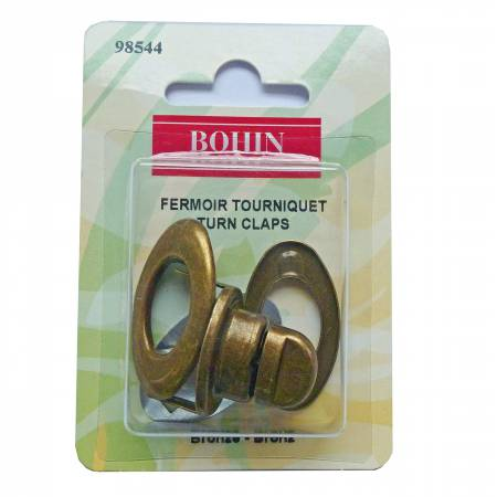 Turn Clasp Bronze