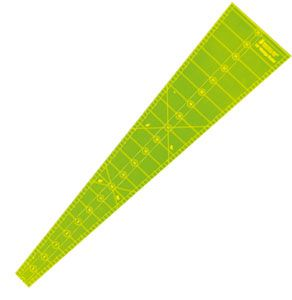 Wedge 10 Degree Ruler  Matilda's Own