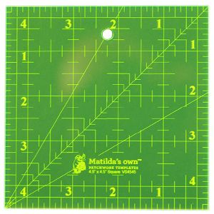 "Ruler 4.5"" x 4.5"" Matilda's Own"