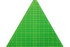 """Triangle 12.5"""" 60 Degree  Matilda's Own"""