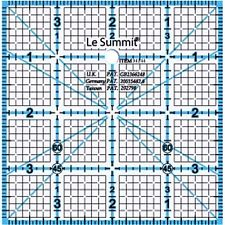 "Ruler 4"" x 4"" Le Summit"
