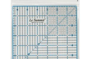 "Ruler 6.5"" x 6.5"" Le Summit"
