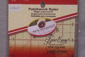 "Ruler 4.5 "" x 4.5"" Sew Easy"