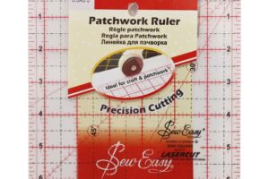 "Ruler 6.5 "" x 6.5"" Sew Easy"