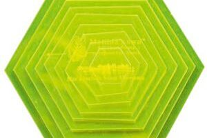 Templates Small Hexagon VH010