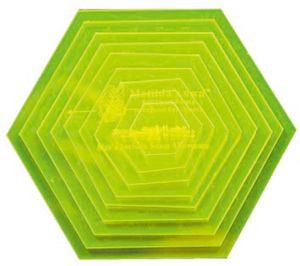 Templates Small Hexagon VH010
