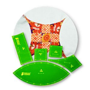 Curved 9 Patch Template VT 938