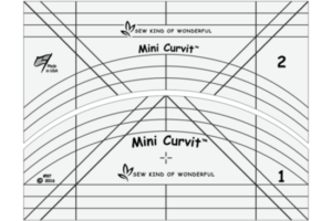 Mini QCR (Quick Curve Ruler) Curvit