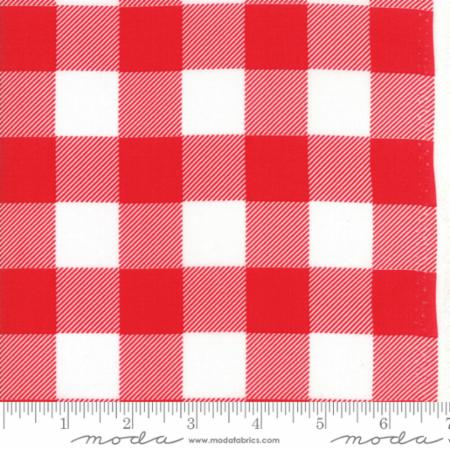 Buffalo Check Red White 11139 27