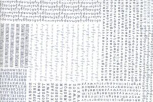 Harmony Alphabet White Rain 5690 21