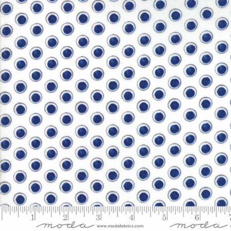 Harmony Dots White Sky 5695 25