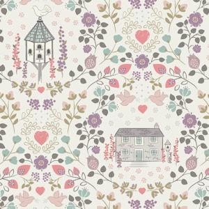 Dove House on Light Cream 6004 51