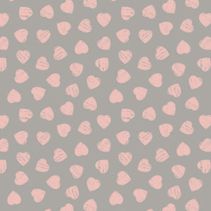 Pink Hearts on Dove 6004 83