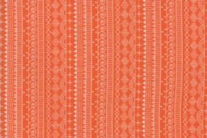 Wanderlust Doodle Stripe Clementine 3542 18