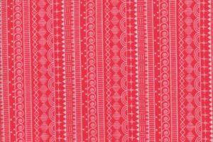 Wanderlust Doodle Stripe Raspberry 3542 22