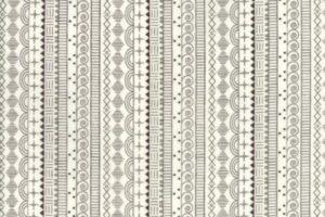 Wanderlust Doodle Stripe Walnut/White 3542 16